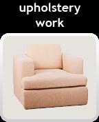 upholstery work
